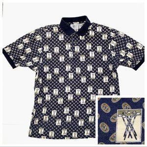 FARAH Men's Short Sleeve Golf Polo Pullover Shirt